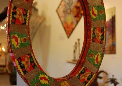 """""""Fiesta Mirror"""" Kathleen O'Neill"""