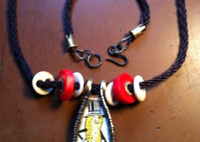 """Mr. Peanut Necklace""  Joel Lage"