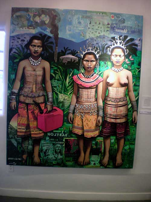 """Borneo Schoolgirls"" Erin Currier ª(nvited)"