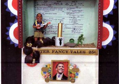 """Obama Shrine""  Mary Hoffman"