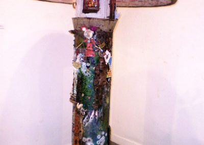 """Mycelium Lamp""  Mary Alvarado"