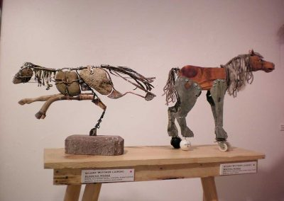 """Running Horse"" + ""Waiting Horse"" Stuart Wittwer"