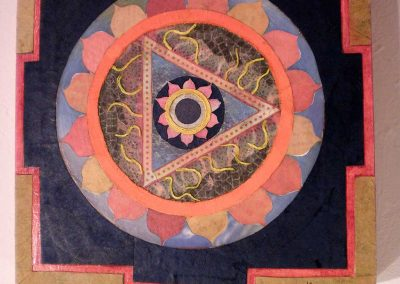 """Divine Feminine Yantra"" Kate Cartwright"