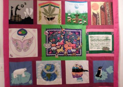 """Global Warming Quilt""    Wholly Rags"