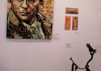 """Baltasar Garzon""  Erin Currier +""Ode to Picasso: Equine""   Marcia McEachron"