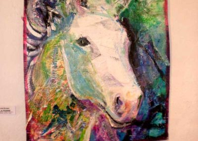 """Portrait of a Horse"" Evelyn Sprouse-Rowe"