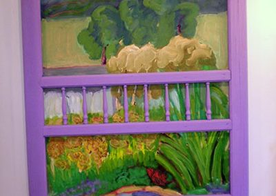 """Lavender Screen Door""  Jenine Borree"