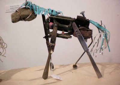 """Horse Series  F""  Stuart Wittwer"
