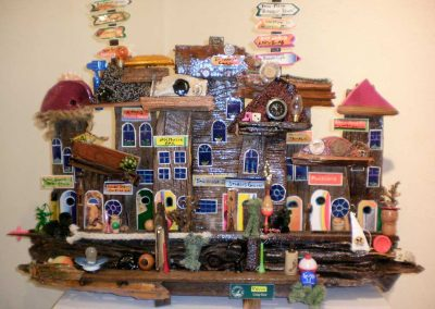 """""""Taos Barnwood Sculpture""""  Kevin O'Donnell"""